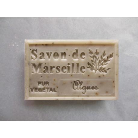 Savon Marseille exfoliant aux algues marine