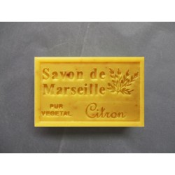 Savon de Marseille exfoliant aux écorces de citron