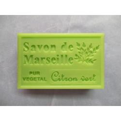 Savon de Marseille parfum citron vert
