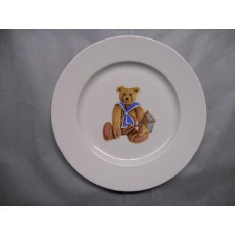 Assiette Dessert en Porcelaine Enfant