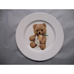 Assiette Dessert en Porcelaine
