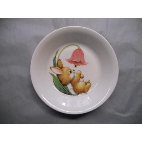 Assiette Calotte en Porcelaine Enfant