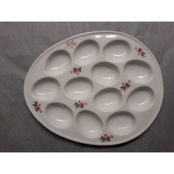 Plat Oeuf Mimosa en Porcelaine